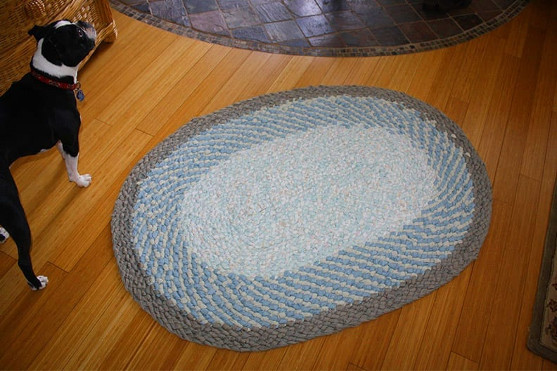 Cl Full No Sew Braided Rugs Ragfinery Textile